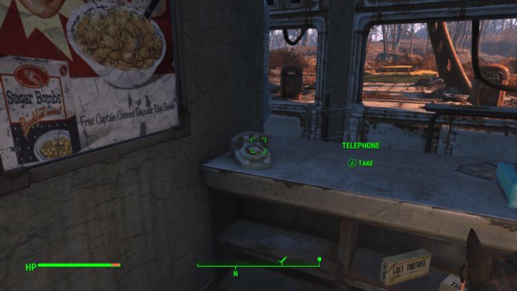 Telephone item in Fallout 4, useful junk