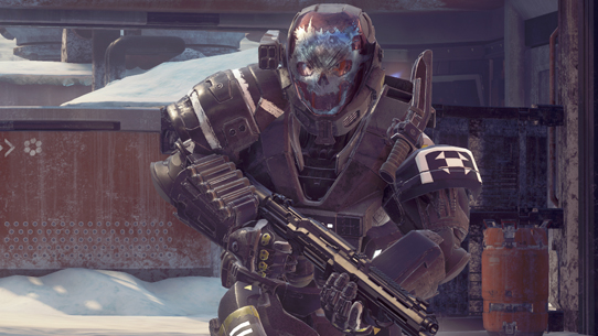Wrath, a Helmet in Halo 5 Guardians