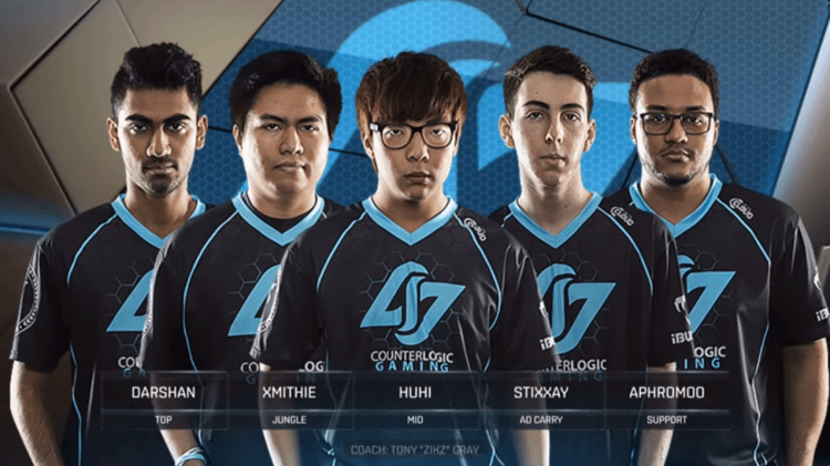 Counter Logic Gaming, one of the best LCS teams of all time