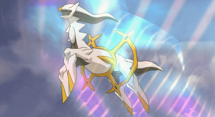 Arceus, one of the most intimidating Pokemon