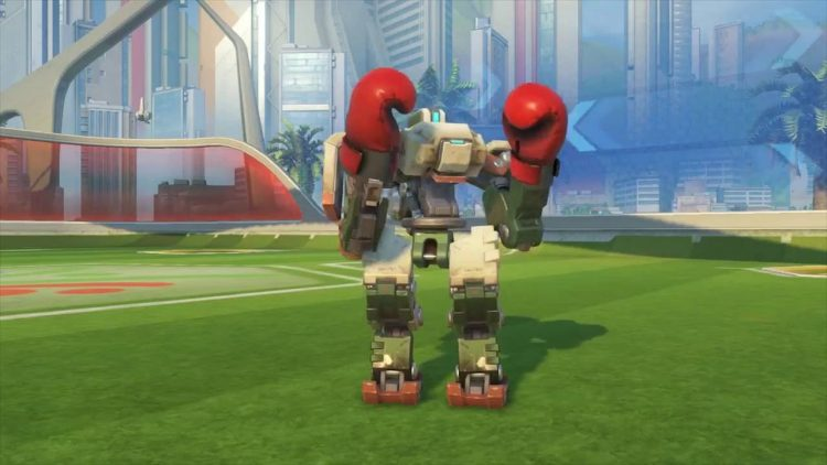 Bastion Boxing Emote