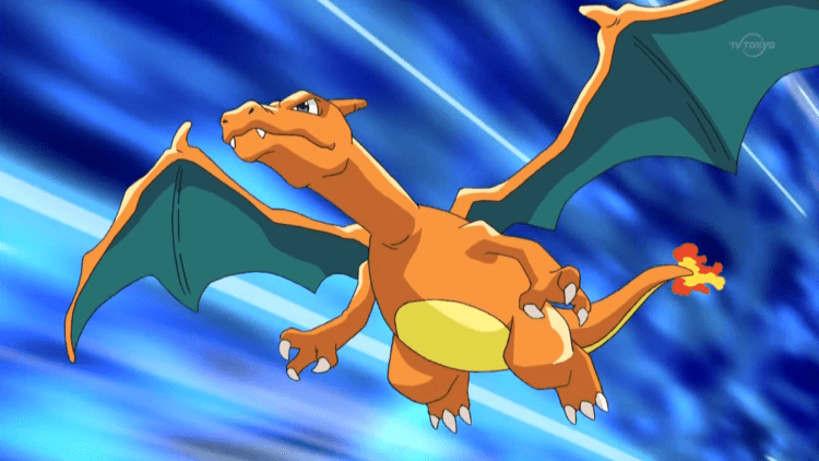 Charizard, one of the most intimidating Pokemon