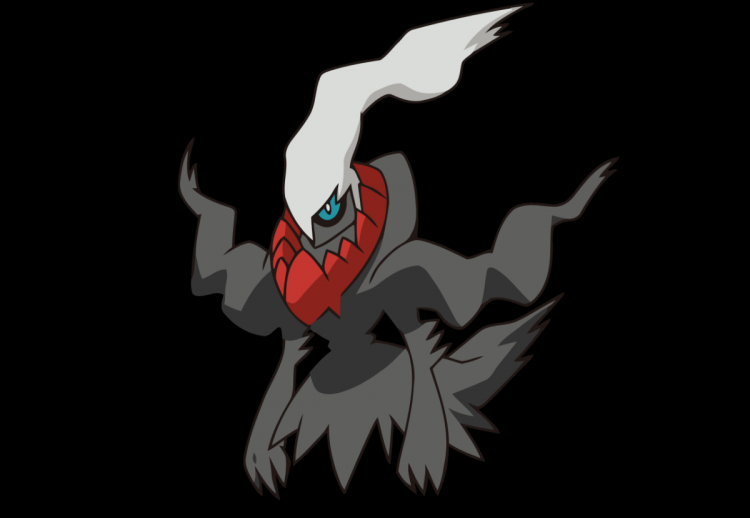 Darkrai, one of the most intimidating Pokemon