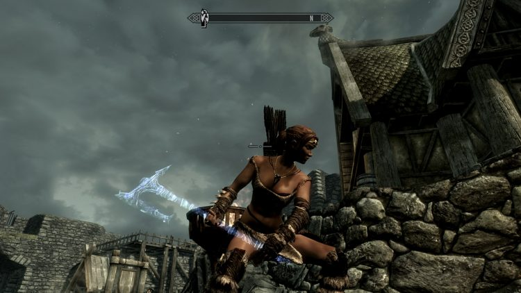 Drainblood, one of the best battleaxes in Skyrim