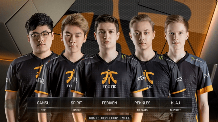Fnatic, one of the best LCS teams of all time