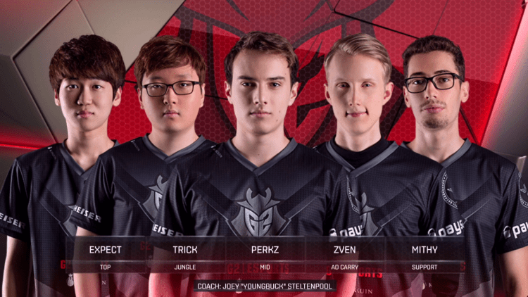 G2 Esports, one of the best LCS teams of all time