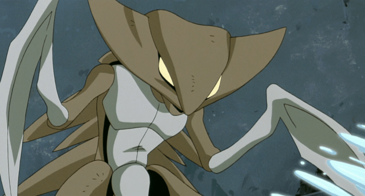Kabutops, one of the most intimidating Pokemon
