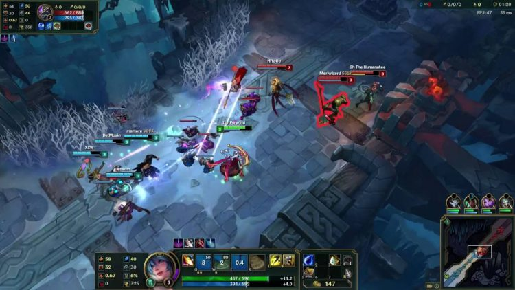 Some of the best champs in ARAM on the Howling Abyss