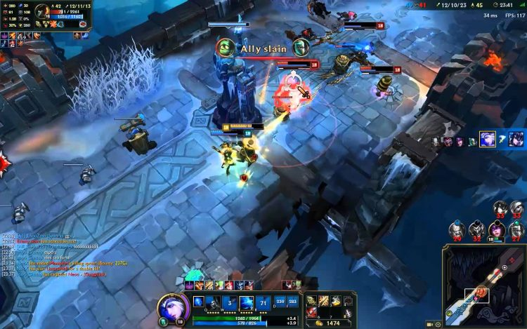 Keep your health topped up in ARAM!