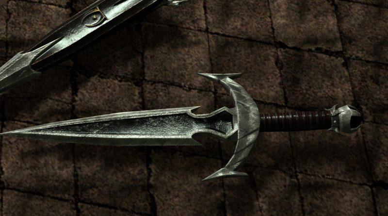 Mehrunes Razor, one of the best daggers in Skyrim