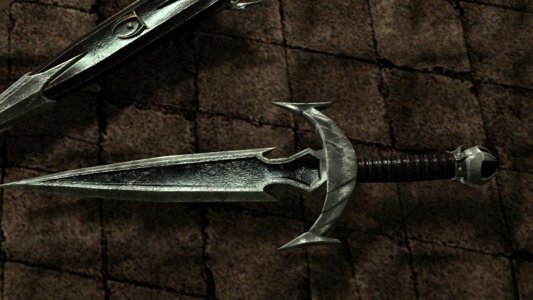 Mehrunes Razor, one of the best daggers in Skyrim