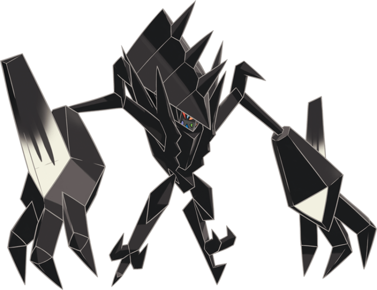 Necrozma, one of the most intimidating Pokemon