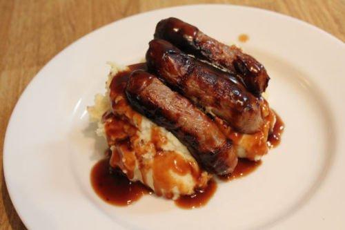 Sausage, mash & gravy