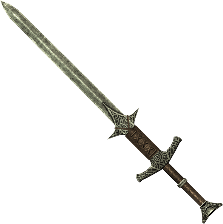 Skyforge Steel Greatsword, one of the best greatswords in Skyrim