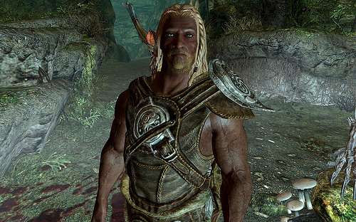 Valdyr, who owns one of the best daggers in Skyrim