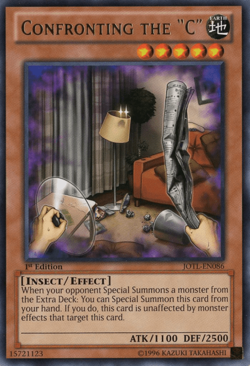 Confronting the C, one of the best Yugioh insect type monsters
