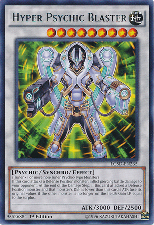 Hyper Psychic Blaster, one of the best Yugioh psychic type monsters
