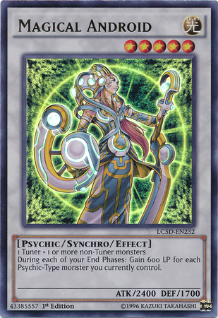 Magical Android, one of the best Yugioh psychic type monsters