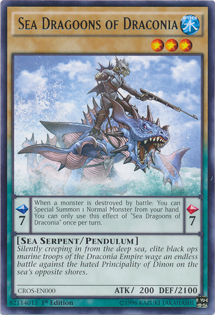 Sea Dragoons of Draconia, one of the best sea serpent type monsters