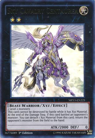 Sky Cavalry Centaurea, the best beast warrior type monster in Yugioh