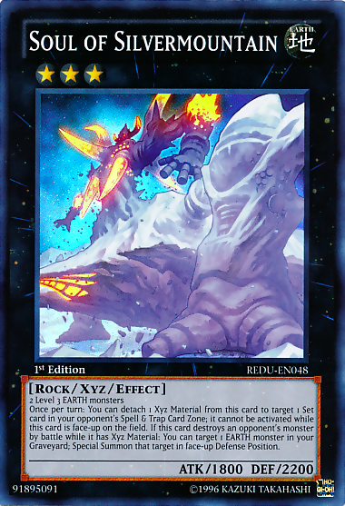 Soul of Silvermountain, the best Yugioh Rock type monster