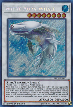 White Aura Whale, the best fish type monster in Yugioh