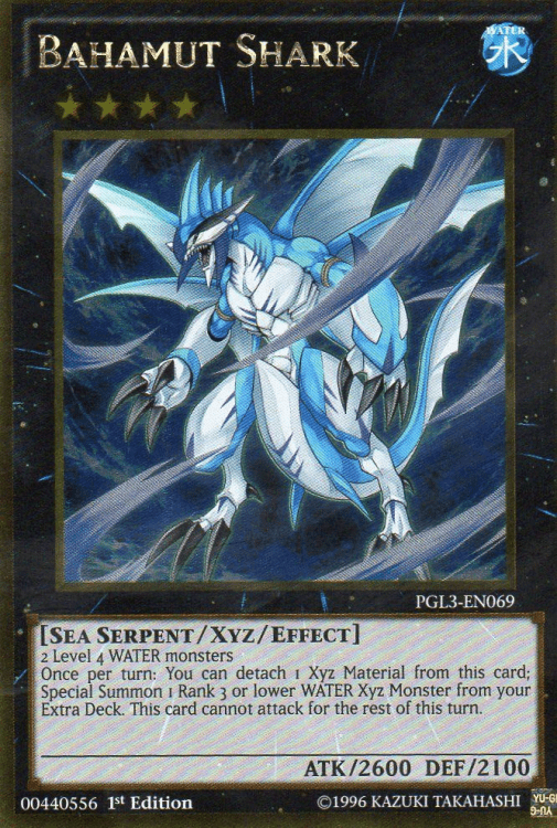 Bahamut Shark, one of the best sea serpent type monsters