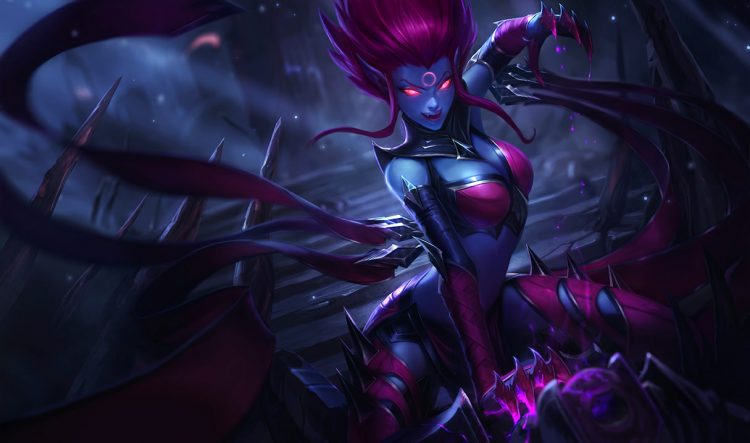 Evelynn, one of the worst ARAM champions