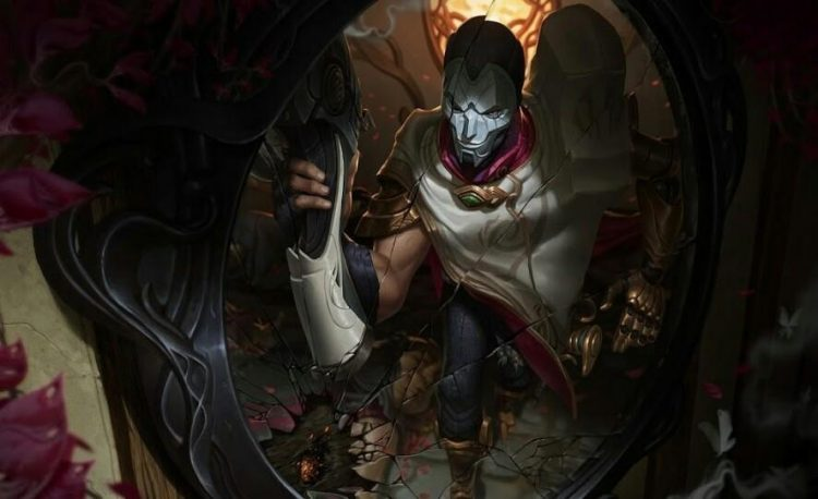 Jhin, one of the best ARAM champions