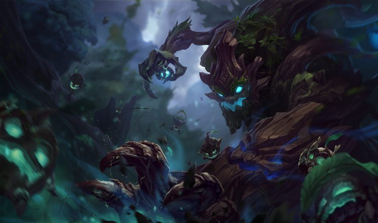 Maokai, one of the best ARAM champions