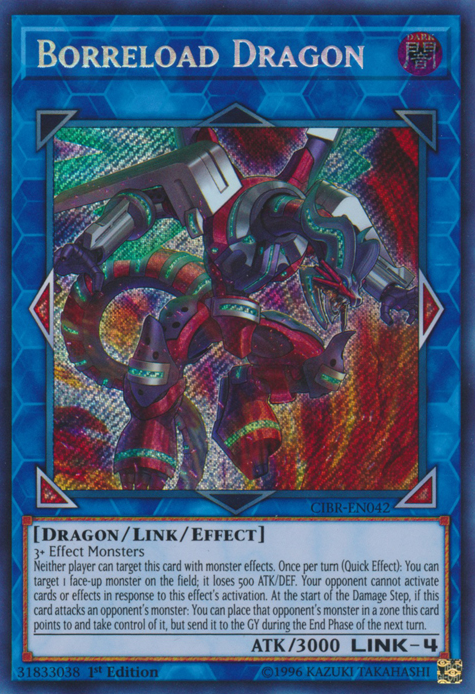 Borreload Dragon, one of the best Link monsters in Yugioh