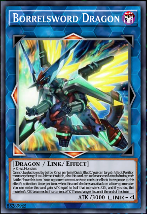 Borrelsword Dragon, one of the best Link monsters in Yugioh
