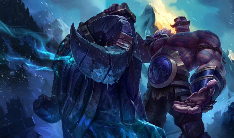 Braum, one of the most balanced League of Legends Champions