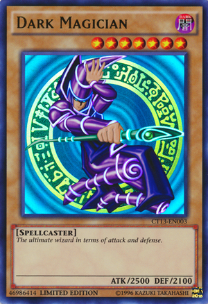 Dark Magician, one of the most nostalgic Yugioh cards