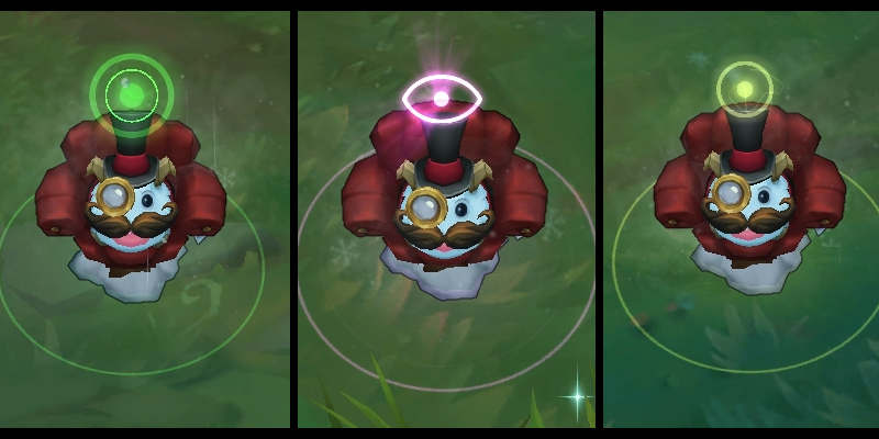 Gentleman Poro Ward, one of the best ward skins in League of Legends