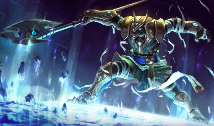 Nasus, one of the most balanced League of Legends Champions