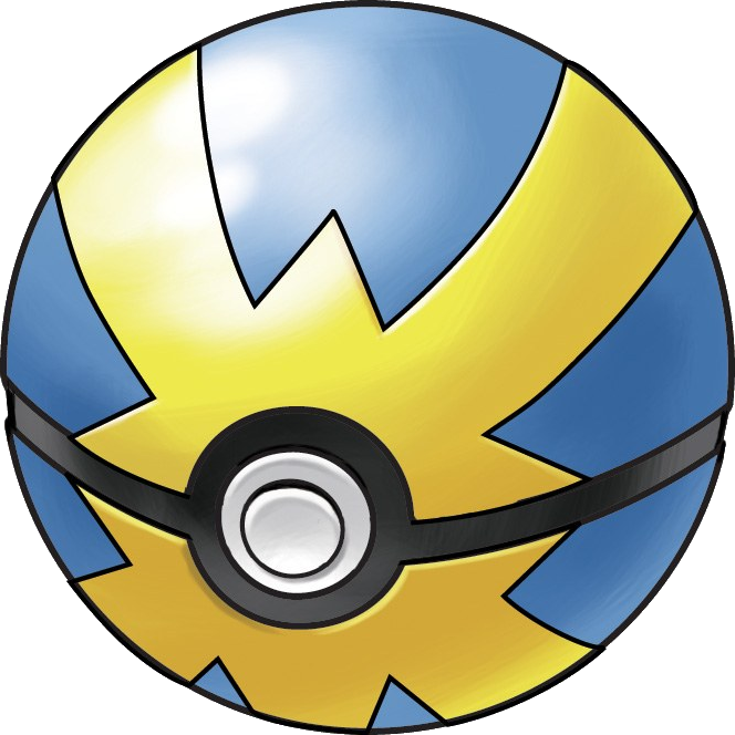 Quick Ball, one of the best Poke Balls