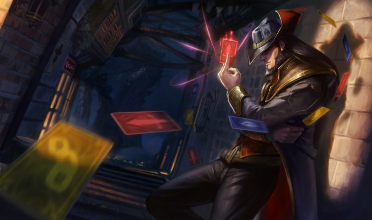 Twisted Fate, one of the most balanced League of Legends Champions