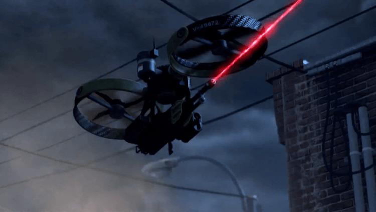 Vulture, oneof the best scorestreaks in Infinite Warfare