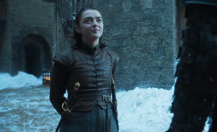 Arya Stark, the best fighter in Game of Thrones Season 7