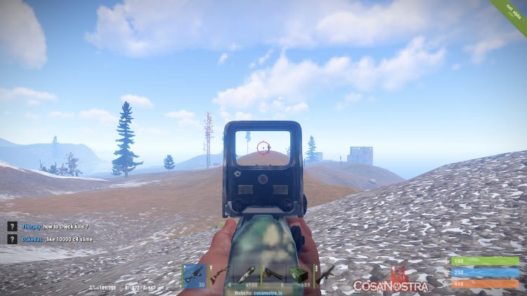 Playing the Battlefield server on Rust