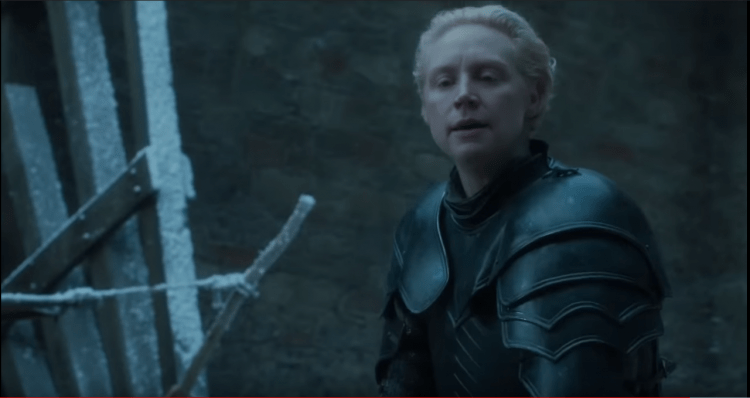 Brienne of Tarth, one of the best fighters in Game of Thrones Season 7