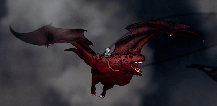 Top 10 Most Powerful Dragons Ever - Game of Thrones - QTopTens