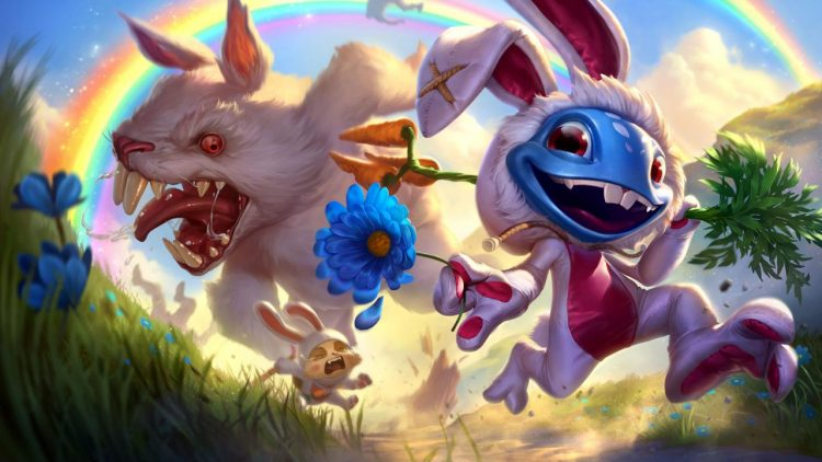 Cottontail Fizz, one of the best splash arts in League of Legend history