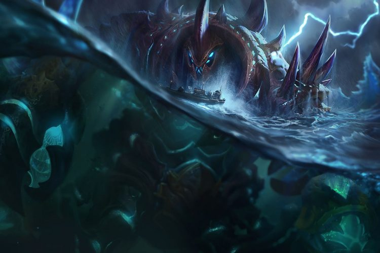 Crabgot, one of the best splash arts in League of Legend history