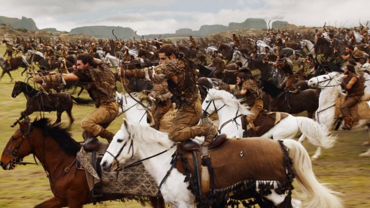 Dothraki are well known for their vigor in battle
