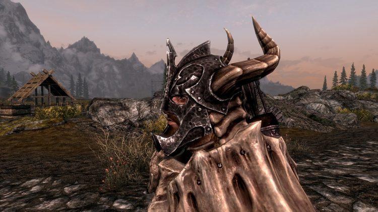 Dragonplate Helmet, the 6th best heavy armor helmet in Skyrim