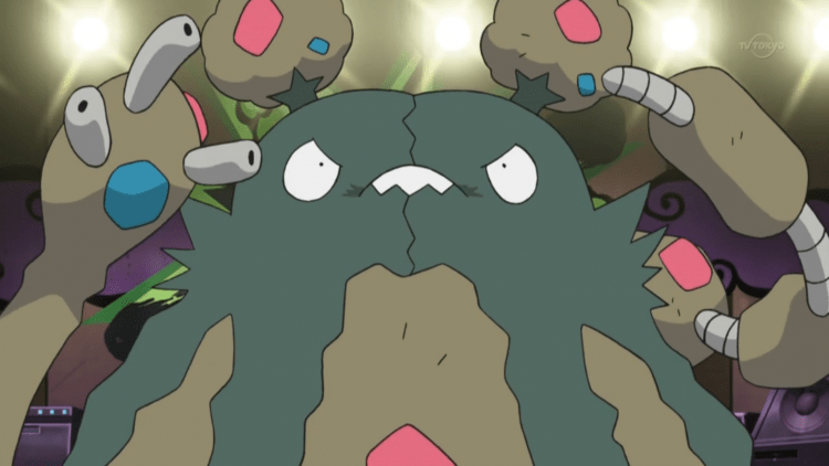 Garbodor, one of the most bizarre Pokemon