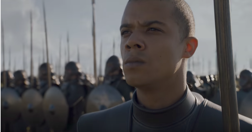 Grey Worm, one of the best fighters in Game of Thrones Season 7