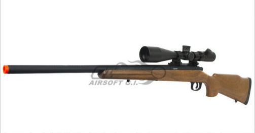 JGM70 model airsoft sniper rifle, one of the best available for the price